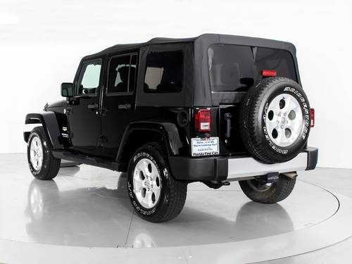 Used JEEP WRANGLER UNLIMITED 2013 WEST PALM SAHARA