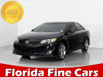 Used TOYOTA CAMRY 2014 WEST PALM Se Sport