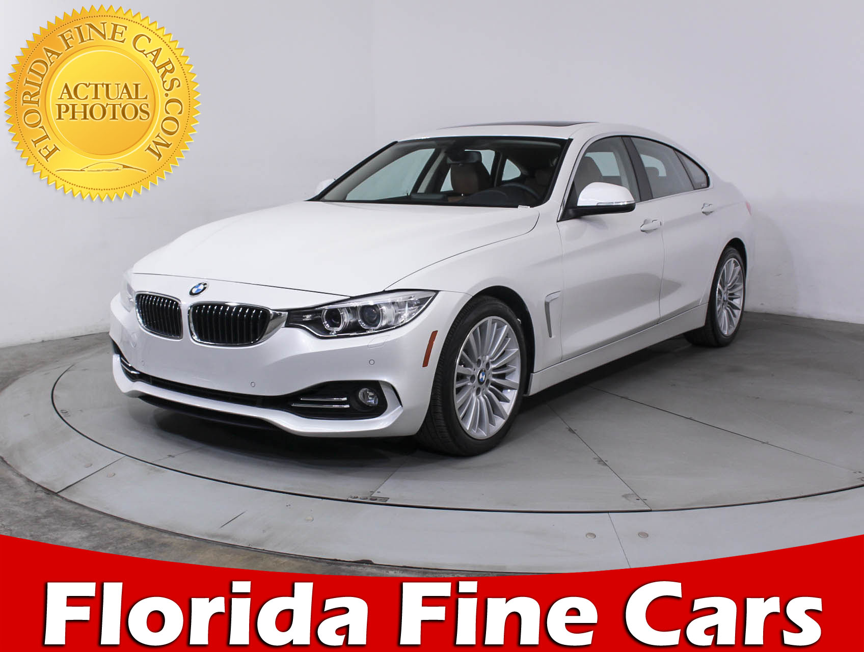 Preowned 2015 BMW 4 SERIES 435i Gran Coupe Msp Sedan BLUE