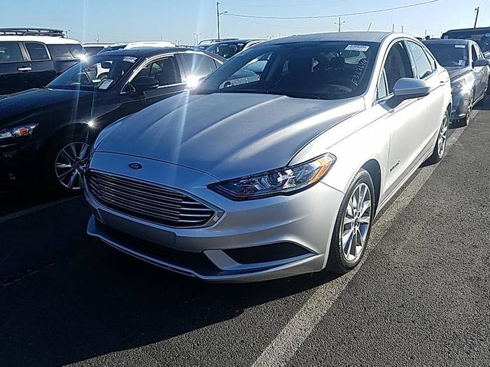 Used FORD FUSION 2017 HOLLYWOOD SE HYBRID