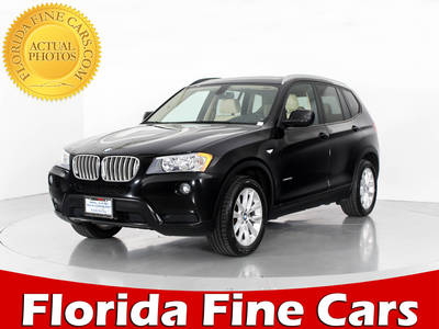 Used BMW X3 2013 WEST PALM XDRIVE28I