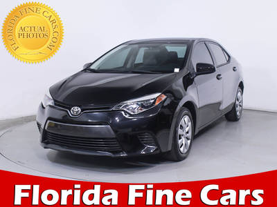 Used TOYOTA COROLLA 2015 HOLLYWOOD Le