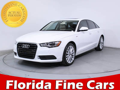 Used AUDI A6 2013 MIAMI PREMIUM PLUS