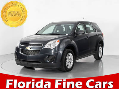 Used CHEVROLET EQUINOX 2014 WEST PALM LS