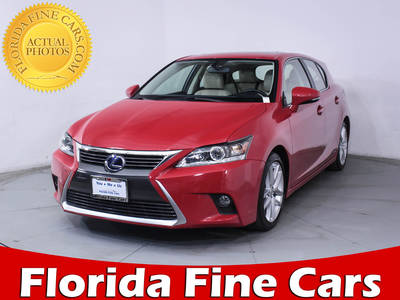 Used LEXUS CT 200H 2015 HOLLYWOOD