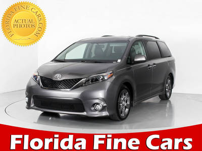 Used TOYOTA SIENNA 2015 WEST PALM SE PREMIUM
