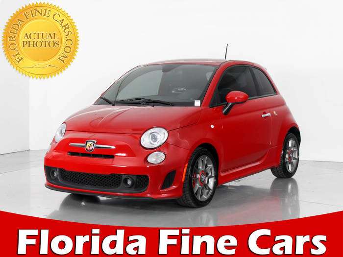 Used FIAT 500 ABARTH 2015 WEST PALM