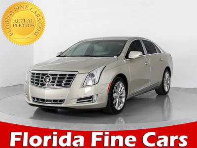 Used CADILLAC XTS 2014 WEST PALM LUXURY