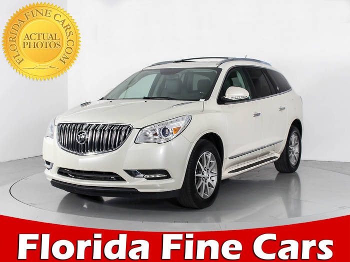 Used BUICK ENCLAVE 2014 WEST PALM Leather Group