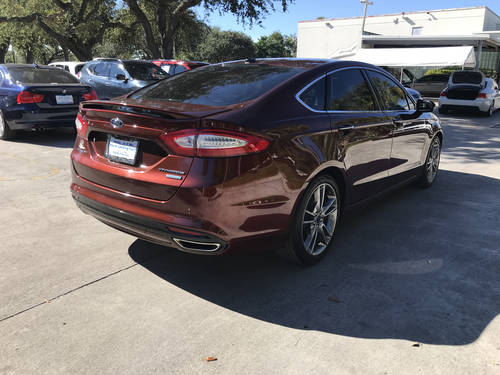 Used FORD FUSION 2015 WEST PALM TITANIUM