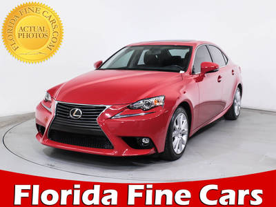 Used LEXUS IS 200T 2016 MIAMI