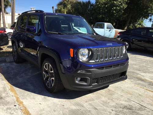 Used JEEP RENEGADE 2017 WEST PALM LATITUDE