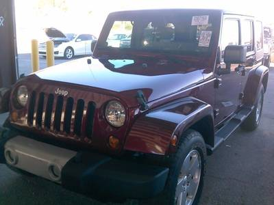Used JEEP WRANGLER UNLIMITED 2010 MIAMI SAHARA