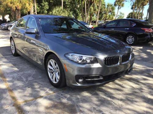Used BMW 5 SERIES 2015 WEST PALM 528I