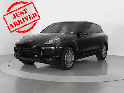 Used PORSCHE CAYENNE 2016 WEST PALM HYBRID S