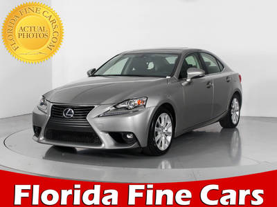 Used LEXUS IS 250 2015 WEST PALM