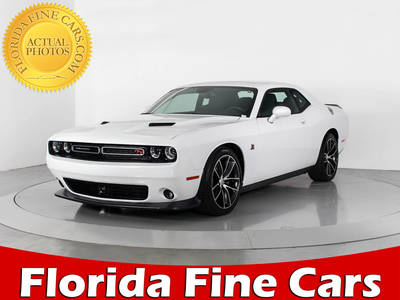 Used DODGE CHALLENGER 2015 WEST PALM SCAT PACK
