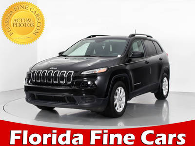 Used JEEP CHEROKEE 2016 WEST PALM SPORT