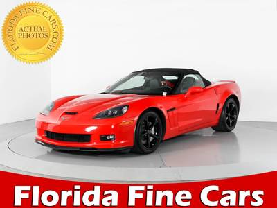 Used CHEVROLET CORVETTE 2013 WEST PALM Grand Sport 2lt 60th