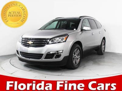 Used CHEVROLET TRAVERSE 2017 HOLLYWOOD 1LT