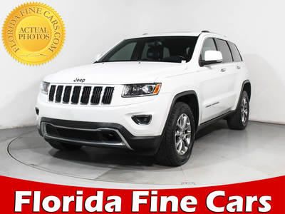 Used JEEP GRAND CHEROKEE 2014 MIAMI Limited Awd