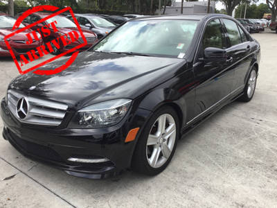Used MERCEDES-BENZ C CLASS 2011 WEST PALM C300 4MATIC