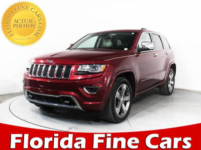 Used JEEP GRAND CHEROKEE 2015 MIAMI OVERLAND