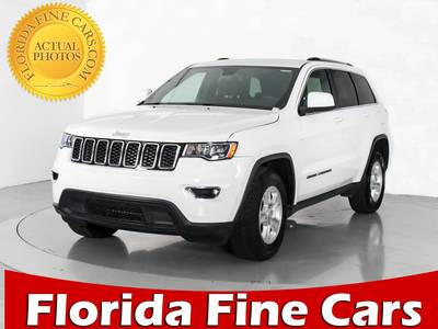 Used JEEP GRAND CHEROKEE 2017 WEST PALM LAREDO