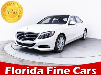 Used MERCEDES-BENZ S CLASS 2015 MIAMI S550 4MATIC