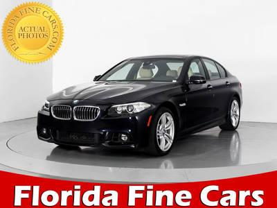 Used BMW 5 SERIES 2014 WEST PALM 535I M SPORT