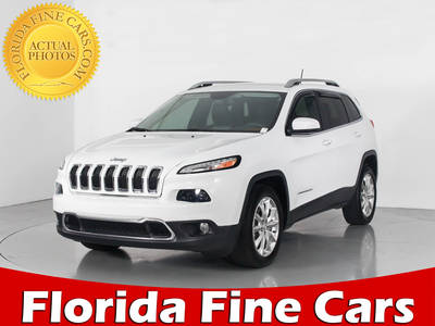 Used JEEP CHEROKEE 2014 WEST PALM LIMITED