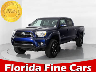 Used TOYOTA TACOMA 2013 WEST PALM PRERUNNER