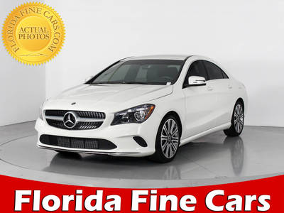 Used MERCEDES-BENZ CLA CLASS 2018 WEST PALM CLA250