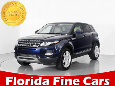 Used LAND ROVER RANGE ROVER EVOQUE 2015 WEST PALM PURE PLUS