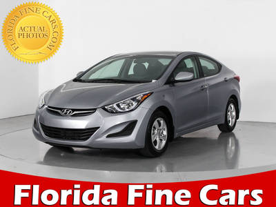 Used HYUNDAI ELANTRA 2015 WEST PALM SE