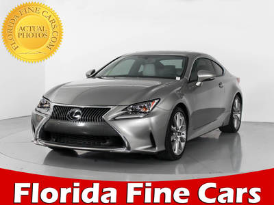 Used LEXUS RC 350 2015 WEST PALM