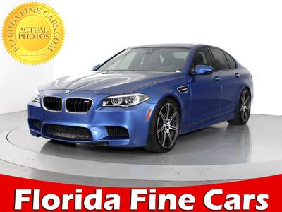 Used BMW M5 2014 WEST PALM Competition Pkg