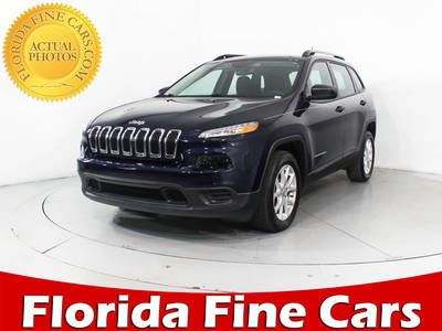 Used JEEP CHEROKEE 2015 HOLLYWOOD SPORT