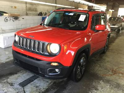 Used JEEP RENEGADE 2017 HOLLYWOOD LATITUDE