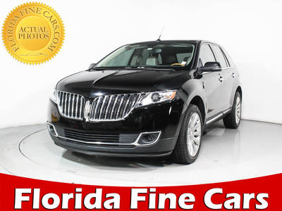 Used LINCOLN MKX 2012 MIAMI BASE