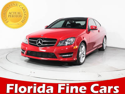 Used MERCEDES-BENZ C CLASS 2015 HOLLYWOOD C250