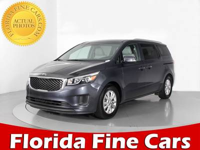 Used KIA SEDONA 2016 WEST PALM LX