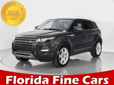 Used LAND ROVER RANGE ROVER EVOQUE 2013 WEST PALM PURE