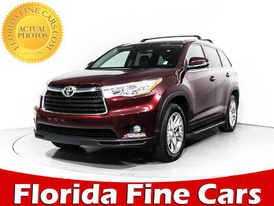 Used TOYOTA HIGHLANDER 2014 HOLLYWOOD LIMITED