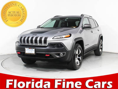 Used JEEP CHEROKEE 2015 MIAMI TRAILHAWK