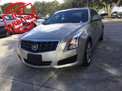Used CADILLAC ATS 2014 WEST PALM