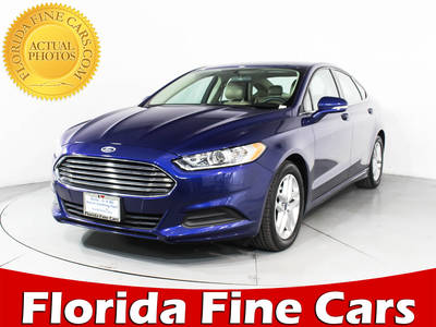 Used FORD FUSION 2015 HOLLYWOOD SE
