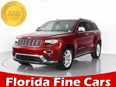 Used JEEP GRAND CHEROKEE 2014 WEST PALM SUMMIT