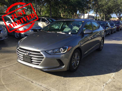 Used HYUNDAI ELANTRA 2018 WEST PALM SE