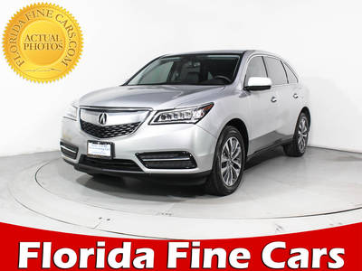 Used ACURA MDX 2015 HOLLYWOOD TECHNOLOGY PACKAGE
